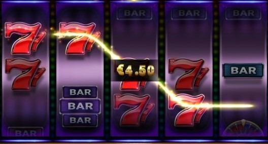 een voorbeeld van een winlijn bij online gokken